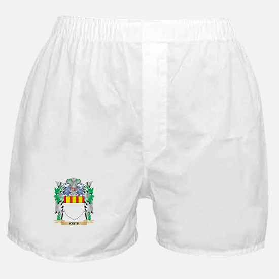 Keith Coat of Arms - Family Crest Boxer Shorts