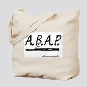 As Bassoon As Possible Tote Bag