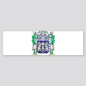 Kelly Coat of Arms - Family Crest Bumper Sticker