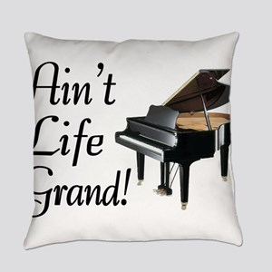 Ain't Life Grand Piano Everyday Pillow