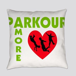 Parkour Amore With Heart Everyday Pillow