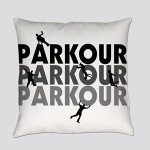 Parkour Free Running Everyday Pillow
