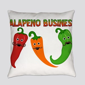 Jalapeno Business Everyday Pillow