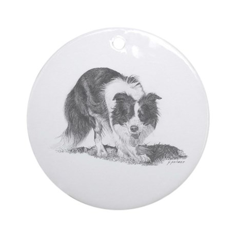 Taylor at Work Ornament (Round)
