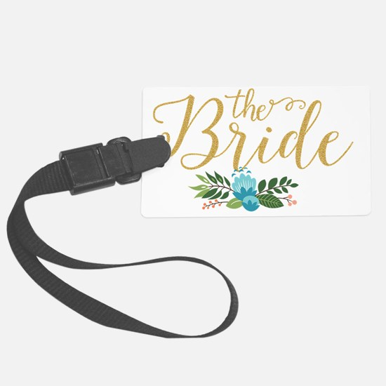 Cute Bride Luggage Tag