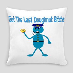 Last Donut Everyday Pillow