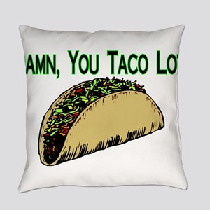 Taco Lot Everyday Pillow