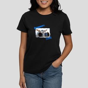 Drummer's Women's Dark T-Shirt