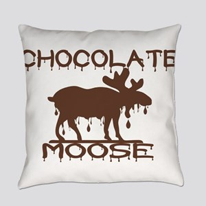 Chocolate Moose Everyday Pillow