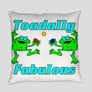 Toadally Fabulous Everyday Pillow