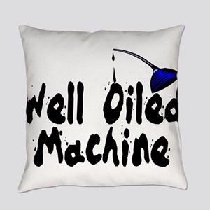 Oiled Machine Everyday Pillow
