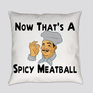 Spicy Meatball Everyday Pillow