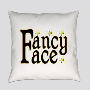 Fancy Face Everyday Pillow