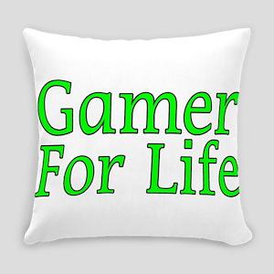Gamer For Life Everyday Pillow