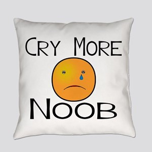 Cry Noob Everyday Pillow