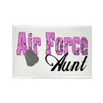 Air Force Aunt Rectangle Magnet (10 pack)