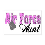 Air Force Aunt  Mini Poster Print