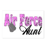 Air Force Aunt Postcards (Package of 8)