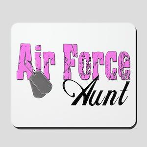 Air Force Aunt Mousepad
