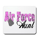Air Force Aunt Mousepad