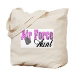 Air Force Aunt  Tote Bag