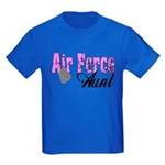 Air Force Aunt Kids Dark T-Shirt