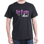 Air Force Aunt Dark T-Shirt