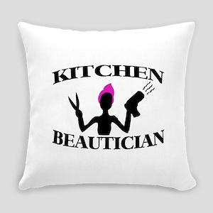 Kitchen Beautician Everyday Pillow