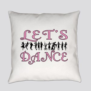 Let's Dance Everyday Pillow