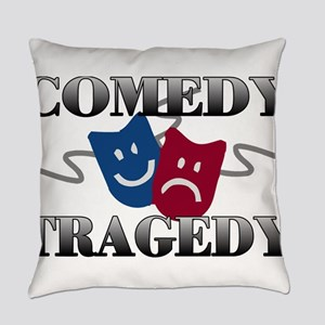 Comedy Tragedy Everyday Pillow