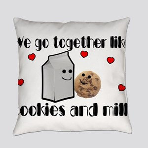 Cookies And Milk Everyday Pillow