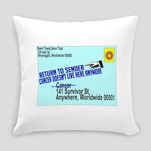 Cancer No More Everyday Pillow