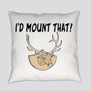 I'd Mount That Head Everyday Pillow