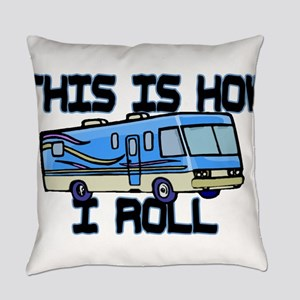 How I Roll RV Everyday Pillow
