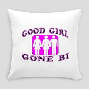 Good Girl Gone Bi Everyday Pillow