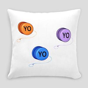 Yo Yo Yo Everyday Pillow