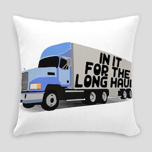 Long Haul Trucker Everyday Pillow