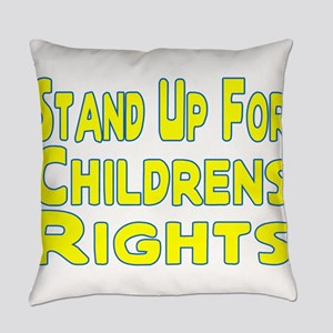 Childrens Rights Everyday Pillow
