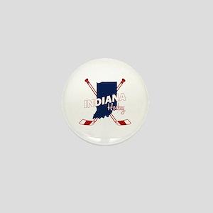 Indiana Hockey Mini Button