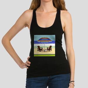 Peace Beach Racerback Tank Top