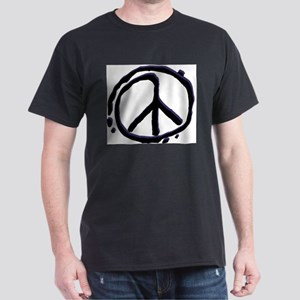 Peace Sign - Anti-War Ash Grey T-Shirt