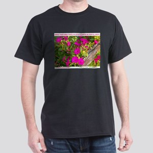 FOUR O'CLOCK FLOWERS Dark T-Shirt