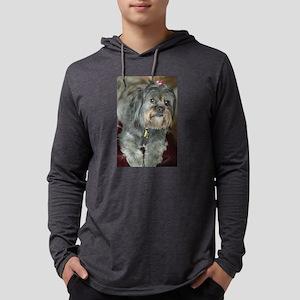 Kona Lhasa type dog up close l Long Sleeve T-Shirt