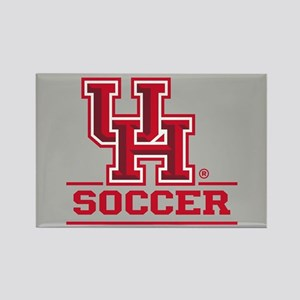 UH Soccer Rectangle Magnet