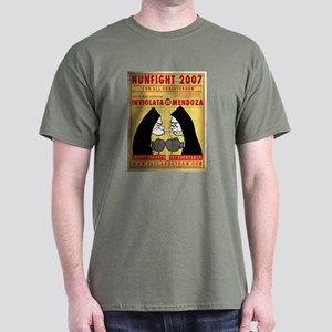 Nun Fight Dark T-Shirt