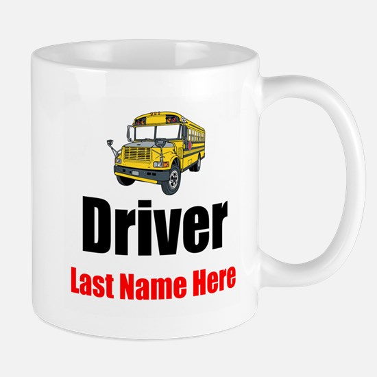 School Bus Driver Mugs