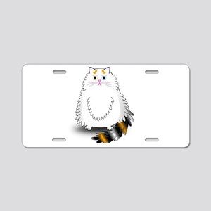 Schatzi - the worried kitten Aluminum License Plat