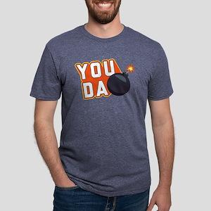 Emoji You Da Bomb Mens Tri-blend T-Shirt