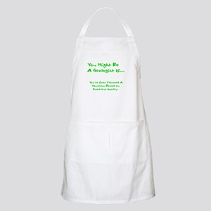 You Might Be A Geologist Apron