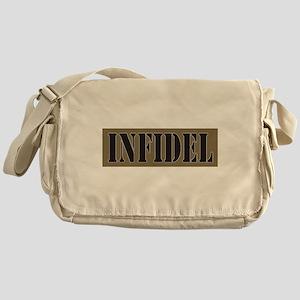 INFIDEL Military plain. Messenger Bag